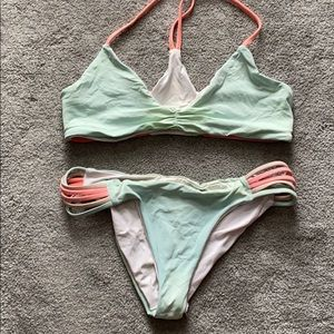Reversible Lspace bikini small top and bottom